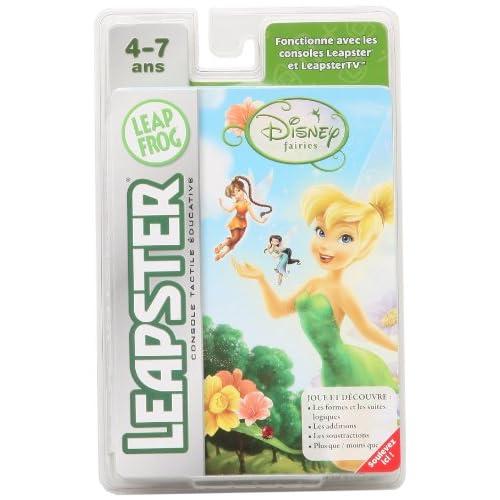 LeapFrog - LEAPSTER - Jeu : Fairies - Les fées Clochettes (Disney)