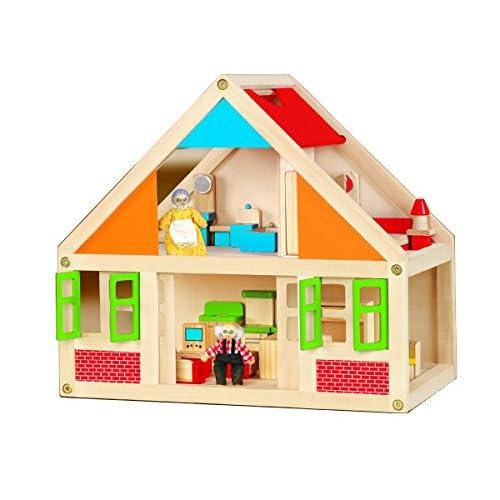 New Classic Toys - Casa de juguete (26.5x42.5x40 cm) (741)
