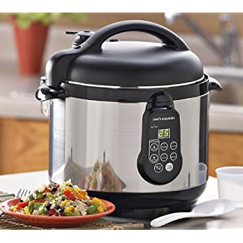 Cooks Essentials Electric 5 Quart Pressure Cooker by Deni