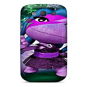 Fashion Tpu Case For Galaxy S3- Lbp Cool Chick Defender Case Cover