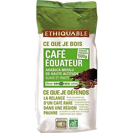 éthiquable café molido Ecuador Bio 500 g: Amazon.es: Bebé