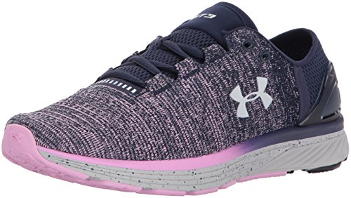 Under Armour UA W Charged Bandit 3, Running Femme Bleu (Midnight Navy)