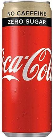 Coca-Cola Zero Sans Caféine 25cl (pack de 24): Amazon.es: Alimentación y bebidas