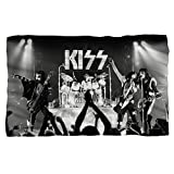 Staged KISS BAND Fleece Blanket