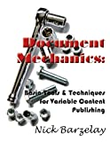 Document Mechanics, Nicholas Barzelay, 0615482813