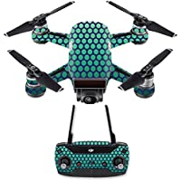 Skin for DJI Spark Mini Drone Combo - Spots| MightySkins Protective, Durable, and Unique Vinyl Decal wrap cover | Easy To Apply, Remove, and Change Styles | Made in the USA