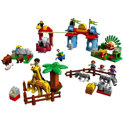 Duplo LEGO Set #5635 Legoville Big City Zoo
