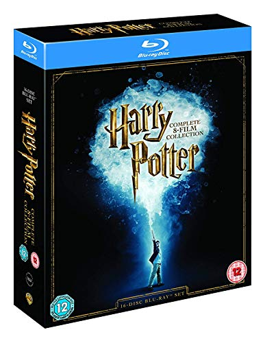 Harry Potter: The Complete 8-Film Collection (2016 Edition) [Blu-ray] [Region Free] (Blu 8 Harry Ray Potter)