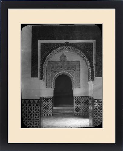 Framed Print of Spain - The Alcazar Interior, Seville by Prints Prints Prints