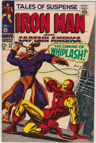 (Tales of Suspense #97 Featuring Iron Man and Captain America Silver Age Marvel Comic Book)