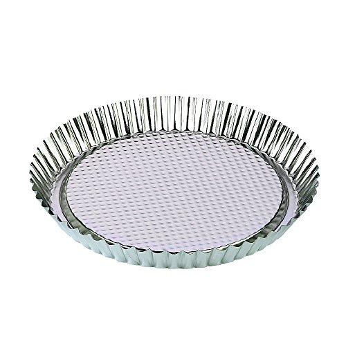 Zenker Tin Plated Steel Flan/Tart Pan, 11-Inch by Zenker