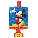 Unique Mickey Mouse Party Blowers, 8-Count