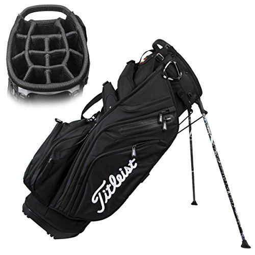 Titleist Men's 14 Way Stand Bag, Black
