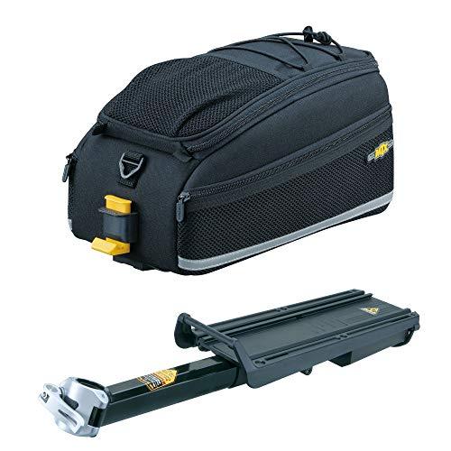- Topeak MTX Bike Trunk Bag EX and Explorer Bicycle Rack with Disc Brake Mounts Kit