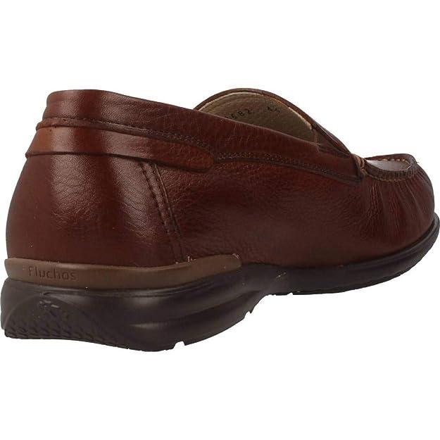 Mocasines para Hombre, Color marrón, Marca FLUCHOS, Modelo Mocasines para Hombre FLUCHOS Tornado 8682 Marrón: Amazon.es: Zapatos y complementos