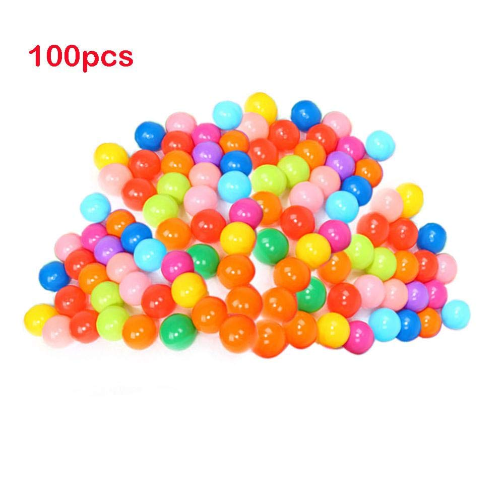 F GonPi Toy Balls 50 100pcs Eco-Friendly PVC colorful Ball Toys Soft Ocean Balls for The Pool Baby Swim Pit Toy Stress Air Ball Baby Play Tent Toy