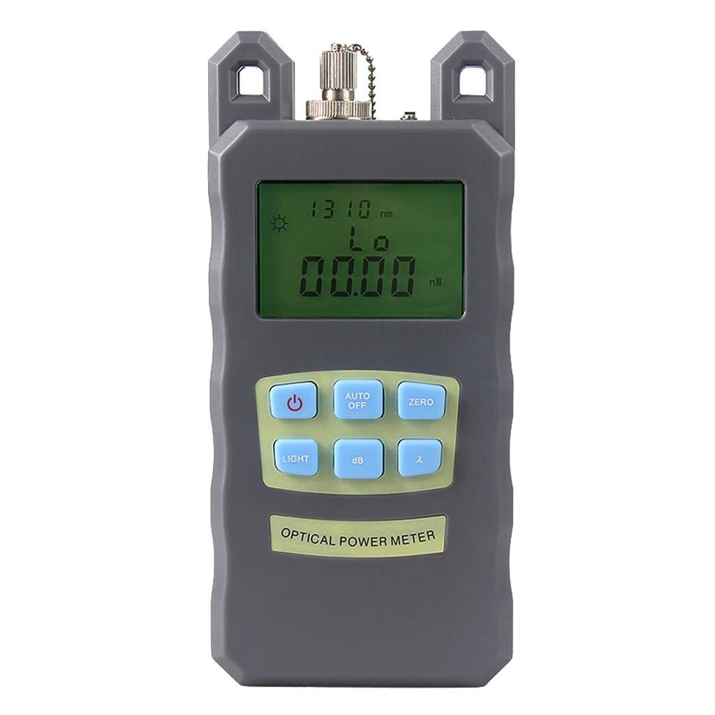 Prettyia 1Set Portable Optical Fiber Power Meter Tester Measure -70dBm~+10dBm + 10mW 10KM Visual Fault Locator Fiber Tester Detector Meter Pen by Prettyia (Image #5)