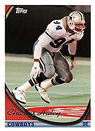 1994 Topps Football Card  176 Charles Haley Dallas Cowboys Official NFL  Trading Card e0c578f6c