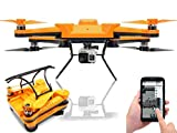 Flexify Foldable Drone Collapsible Quad-copter with GPS Auto Return Function