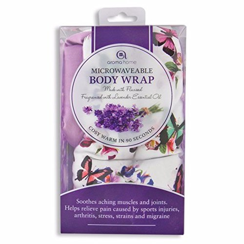 AROMA HOME BUTTERFLY MICROWAVEABLE BODY WRAP