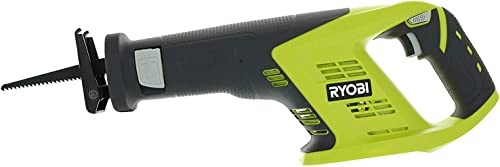 Ryobi P515 One 18V 7 8 Inch Stroke Length 3,100 RPM Lithium Ion Cordless Reciprocating Saw with Anti-Vibration Handle Batteries Not Included, Power Tool Only Renewed