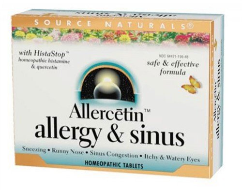 Source Naturals Allercetin Allergy Homeopathic product image