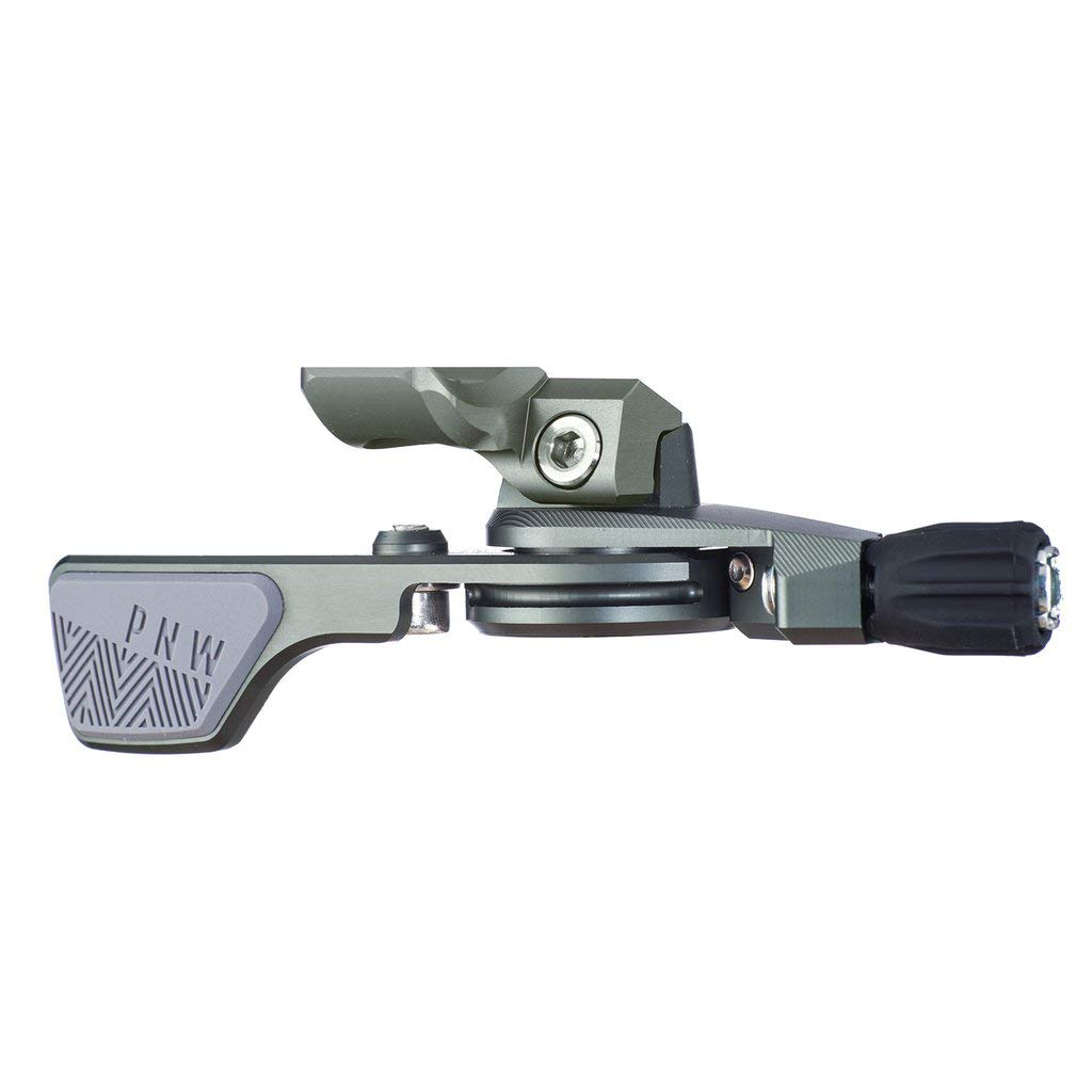 PNW Components Loam Lever Dropper Remote (Grey/Grey, Matchmaker X Clamp)