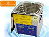 Huanyu PS-10A Industrial Commercial 2L HeatedUltrasonic Cleaner Mechanical Component Cleaning Machine 40KHZ With Basket