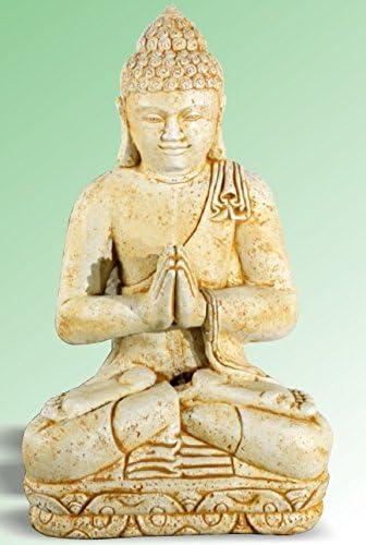 DEGARDEN AnaParra Figura Decorativa Buda de hormigón-Piedra para jardín o Exterior 83cm. Siena: Amazon.es: Jardín