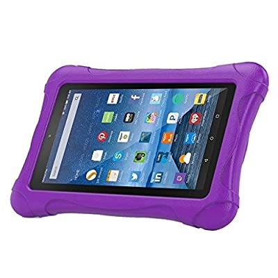 "Fire 7 2015 Case, Cellaria [Kids Case] - [Shockproof][Drop Protection][Heavy Duty] Kids Children EVA Armor Box Case With Handle For Amazon Fire 7 Tablet (will only fit Fire 7"" 2015 release) by Cellaria"