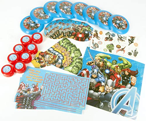 Hallmark Avengers 'Assemble' Favor Pack (48pc) ()