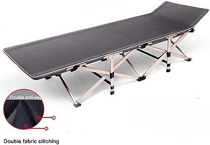 con bolsillos laterales c/ómodos para uso en interiores y exteriores Ever Advanced 136 kg Cuna plegable para adultos con bolsa de transporte
