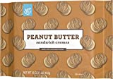 Amazon Brand - Happy Belly Sandwich Cremes, Peanut Butter, One 16 Ounce Package