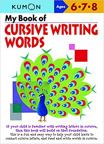 Amazon.com: My Book of Cursive Writing: Words (Cursive Writing ...