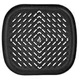 Air Fryer Grill Pan XL Accessory Compatible with Phillips, NuWave Brio, Chefman, GoWise, Cozyna, Emerald, Power Air Fryer, Maxi Matic Elite, Secura, Habor + More 4.0 to 6.5 Qt Models | by Infraovens