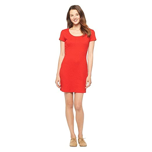 comprar profesional Precio de fábrica 2019 Mossimo Supply Co Women Scoop Neck Sheath Short Dress Red at ...
