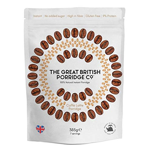 The Great British Porridge Caff Latte Instant Pap