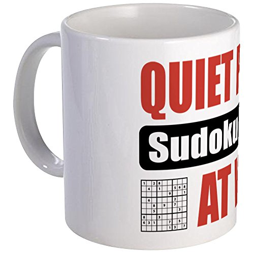 CafePress Sudoku Player Unique Coffee
