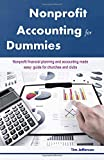 img - for Nonprofit Accounting For Dummies: Nonprofit financial planning and accounting made easy: guide for churches and clubs book / textbook / text book