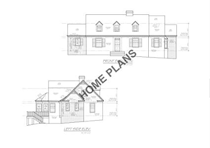 Amazon com: SQ FT HTD ? UNHT ? Plan # K-1089 Home/House