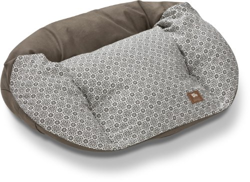 West Paw Design Hemp Tuckered Out X-Large 50 by 32-Inch Dog Stuffed Bed, Timber