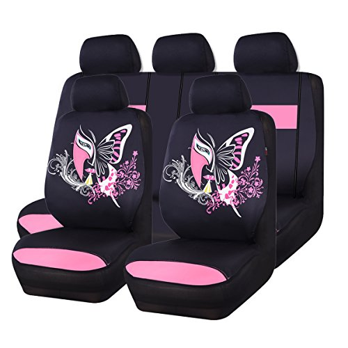 pink and black car accessories - 4