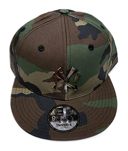 New York Yankees 9Fifty Army Camo Capped Adjustable Snapback Hat