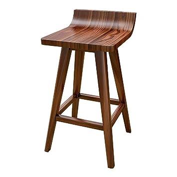Chaise en bois massif de style minimaliste moderne, style ...
