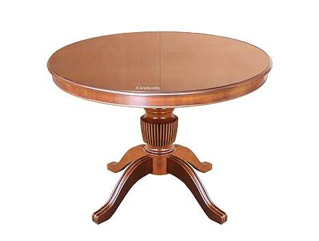 Runder Tisch 160 Cm.Artigiani Veneti Riuniti Runder Esstisch 120 Cm Bis 160 Cm
