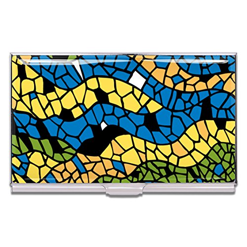 ACME Studios Mosaic Business Card Case by Antoni Gaudi (CAG01BC) by ACME Studios Inc