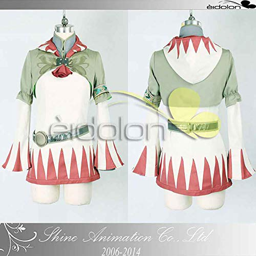 Final Fantasy XIII Sarah 2 Cosplay Halloween Costume Game for Cosplay Show Party Women Girl,XXS -
