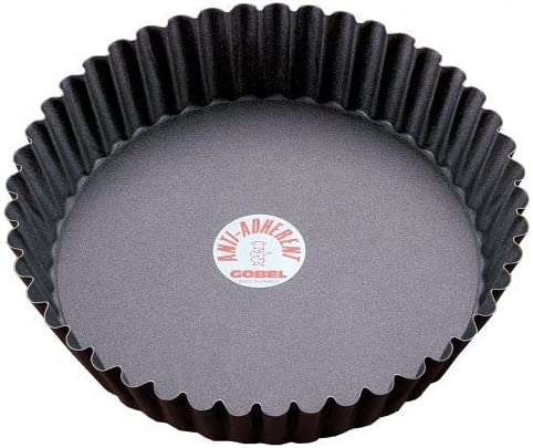 20.3cm Non-stick Tart/Quiche Pan Deep Design with Removable Bottom