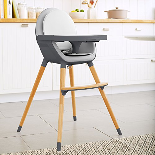 Skip Hop Tuo Convertible High Chair, Charcoal Grey by Skip Hop (Image #4)