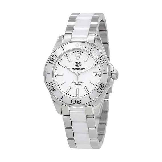 TAG HEUER AQUARACER RELOJ DE MUJER CUARZO 35MM ANALÓGICO WAY131B.BA0914: Amazon.es: Relojes